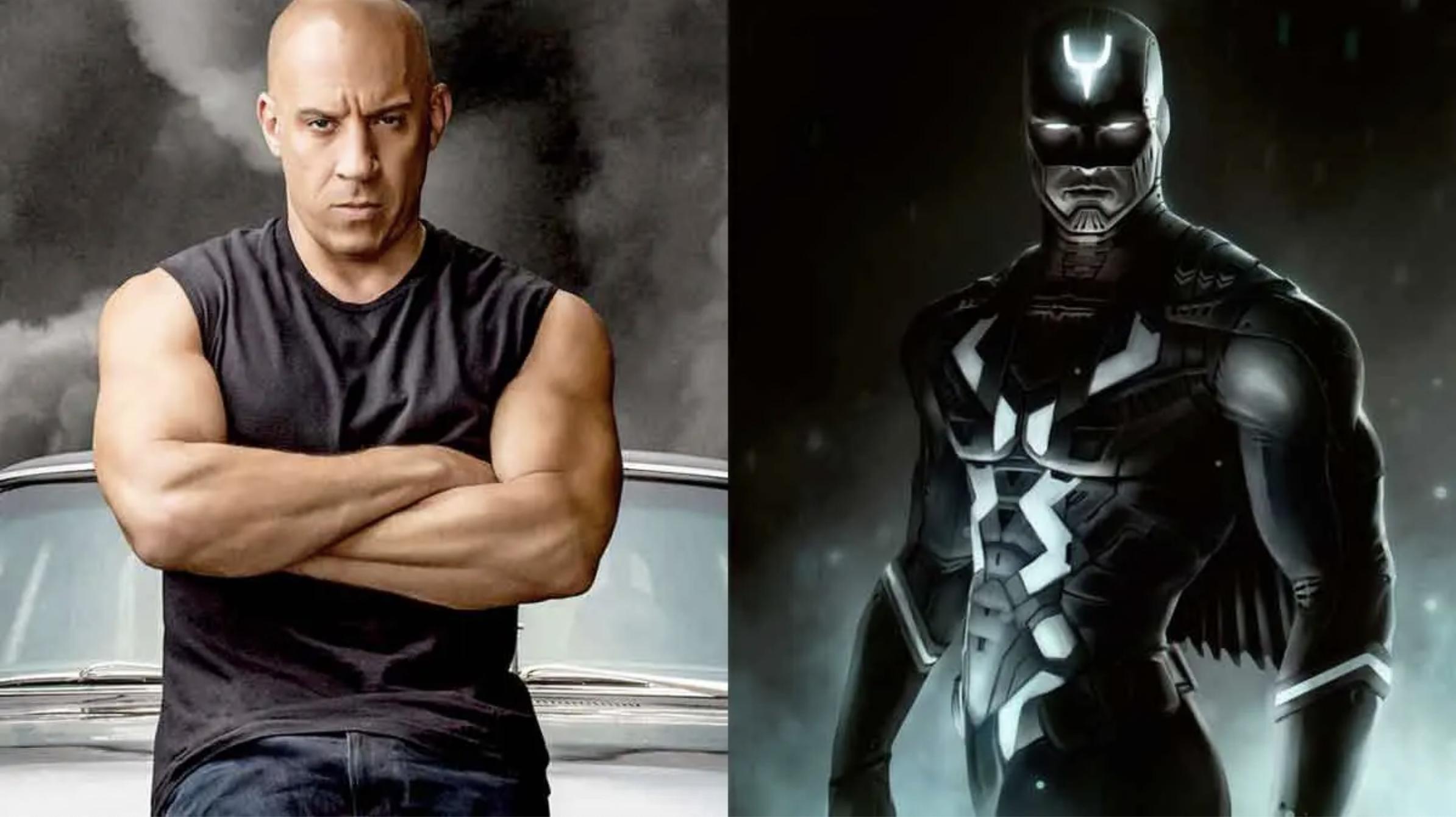Vin Diesel Black Bolt The Illuminati