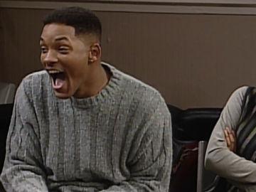 Will Smith laugh