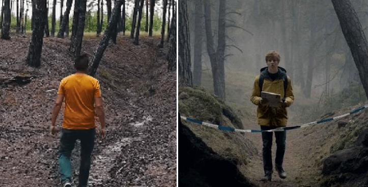 Un Youtuber quería encontrar las cuevas de Dark y nomás llegó a un bosque tenebroso