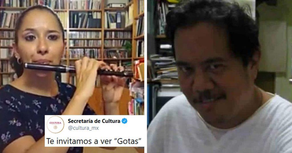 """La Secretaría de Cultura invitó a """"ver gotas"""" y el internet ya agarró el albur"""