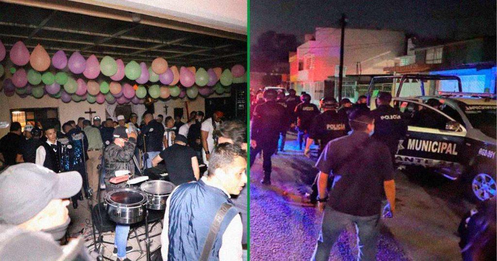 fiestas durante pandemia sancion 43 mil pesos