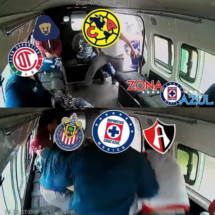 combi meme america liga mx