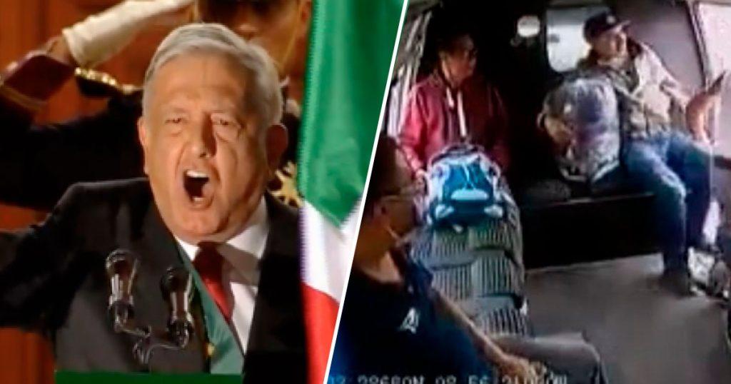 """AMLO confirma que gritará """"Vivan los héroes de la combi que nos dieron patria"""""""