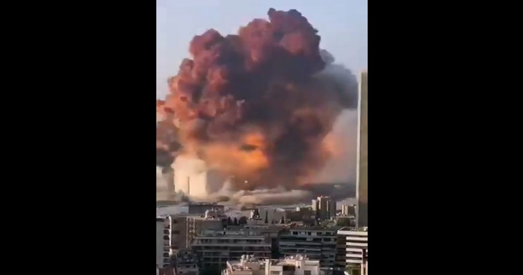 ¿Qué pasó en Beirut? Esto es todo lo que se sabe de la explosión hasta ahora