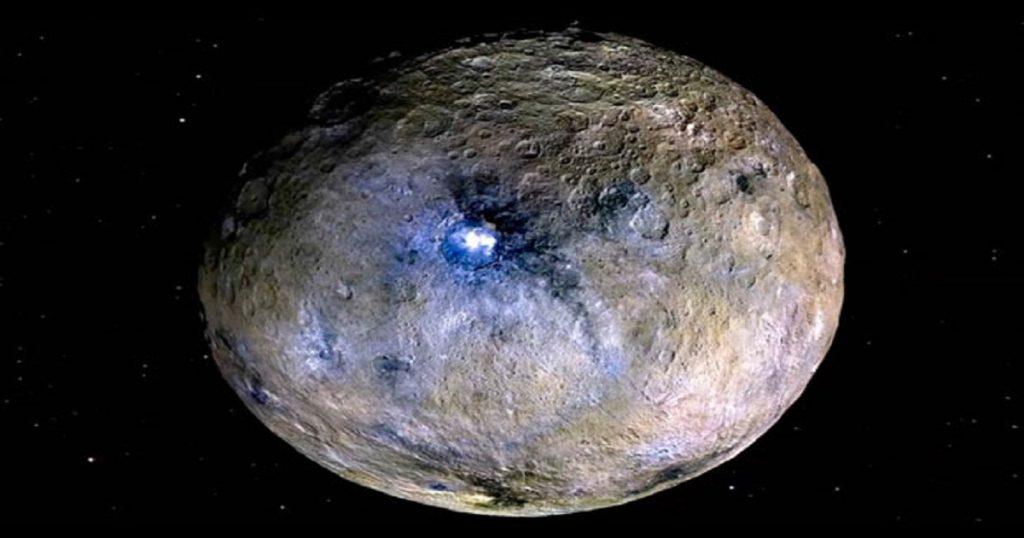 Misterio revelado: El brillo de Ceres es un mar de agua salada, descubre la NASA