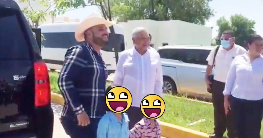 Cover AMLO El Komander Sinaloa