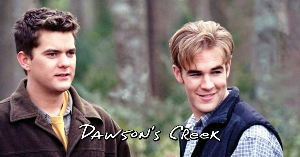 Cover Dawson's Creek Pacey James Van Der Beek