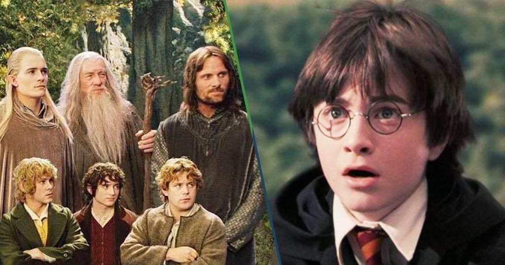 Cover El Señor de los Anillos vs Harry Potter