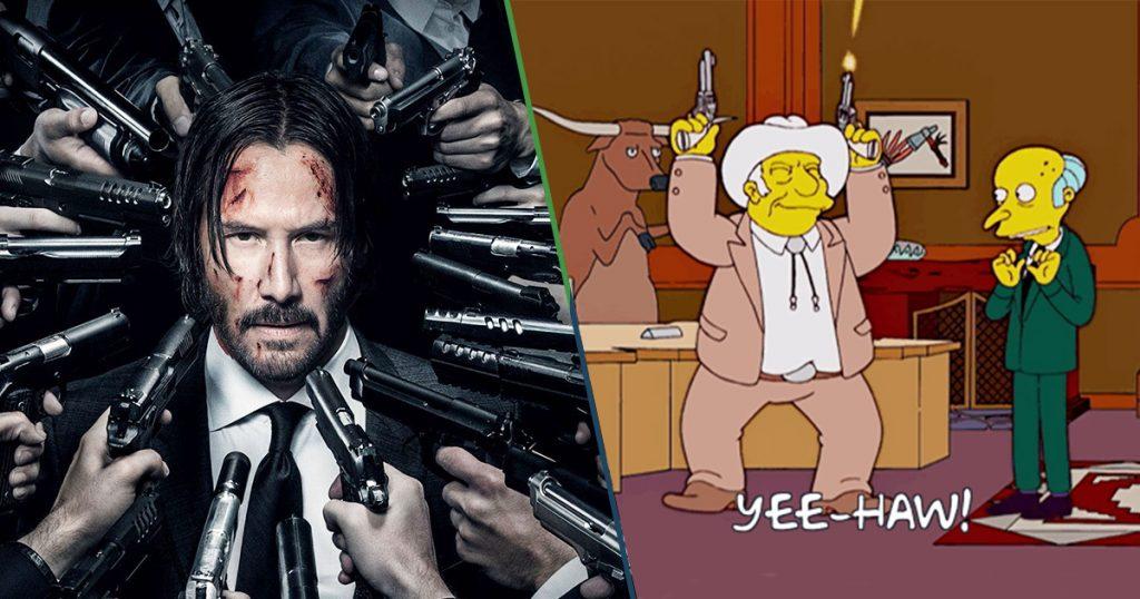 Cover John Wick 4 John Wick 5 Keanu Reeves