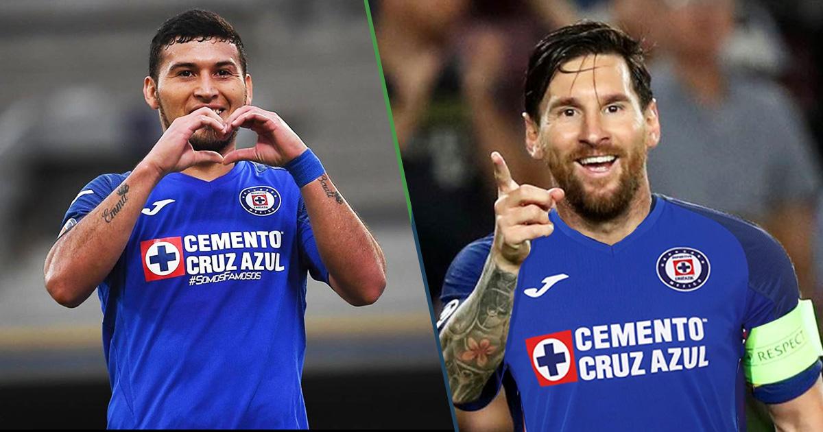 Cover Messi Cruz Azul Billy Álvarez