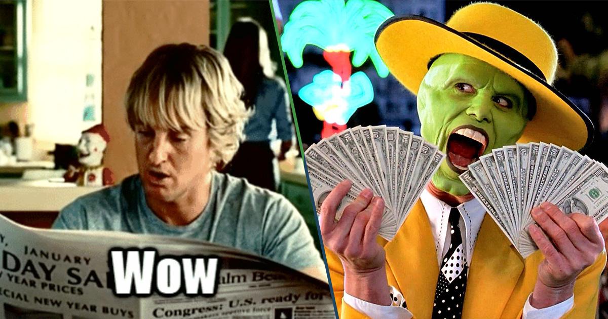 Cover Owen Wilson Wow películas millonario