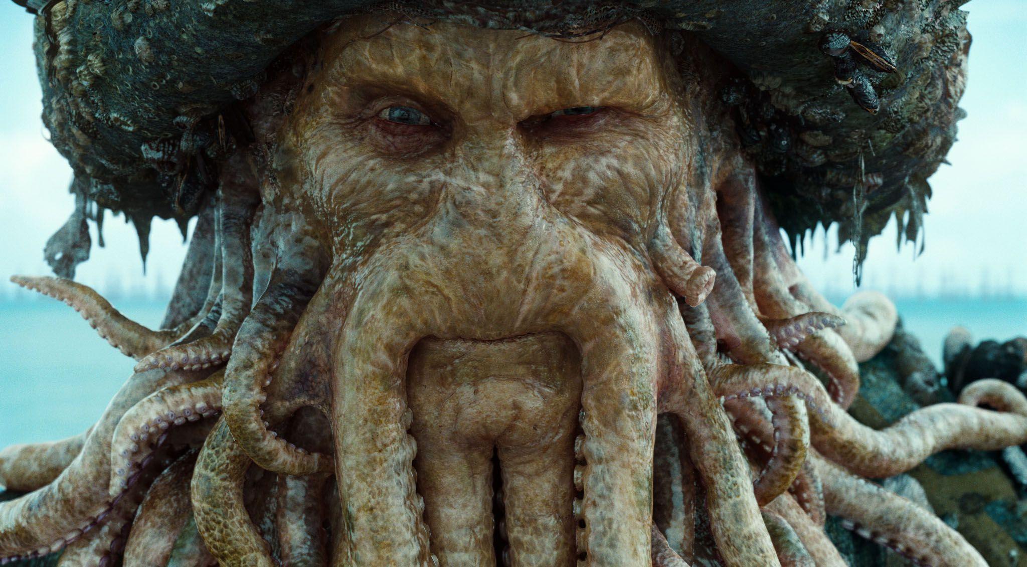 Davy Jones // criatura Merseyside
