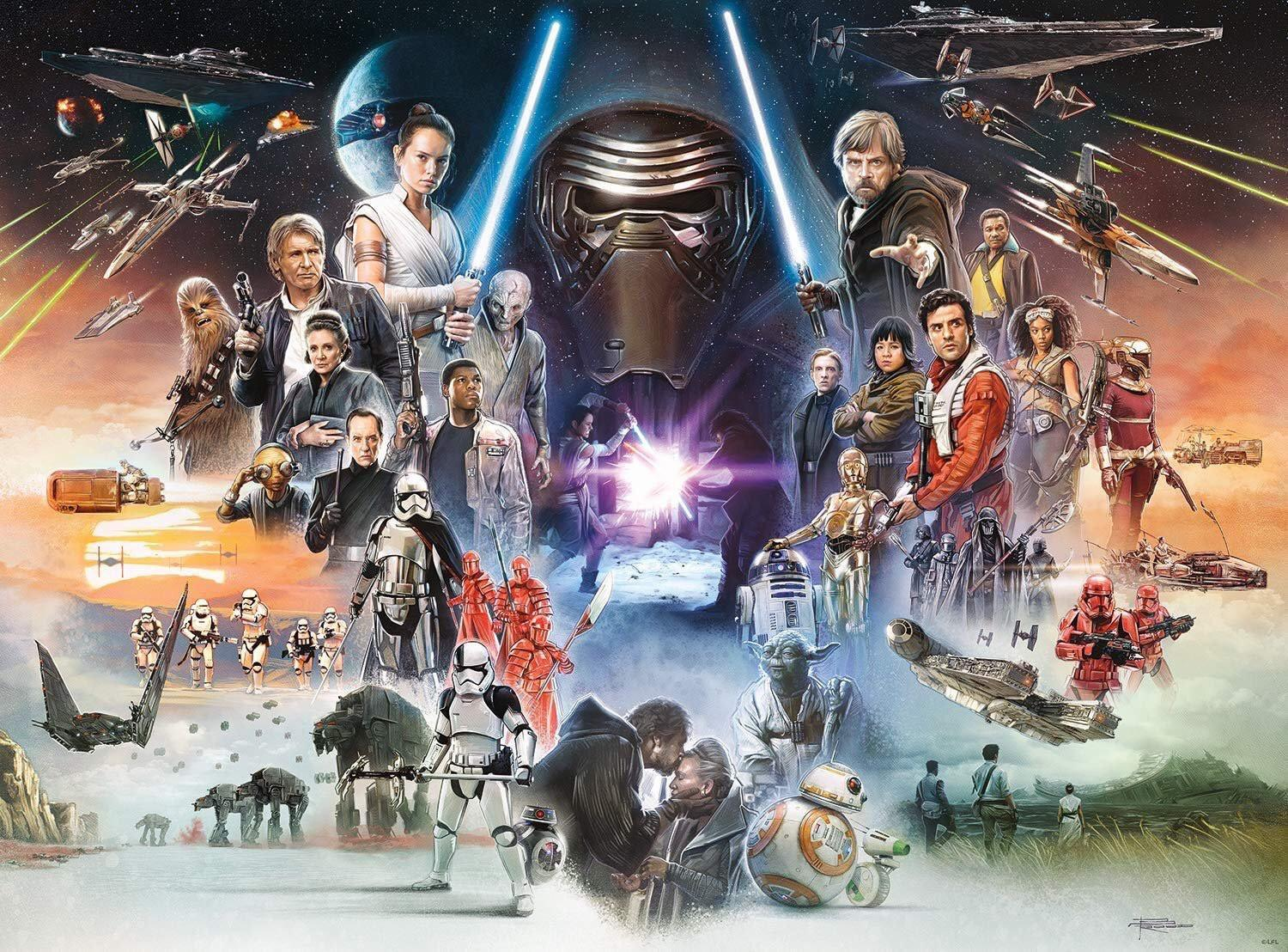 star wars new trilogy poster