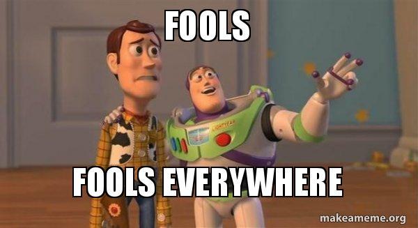fools-fools-everywhere-d1pvwe //nota sana distancia