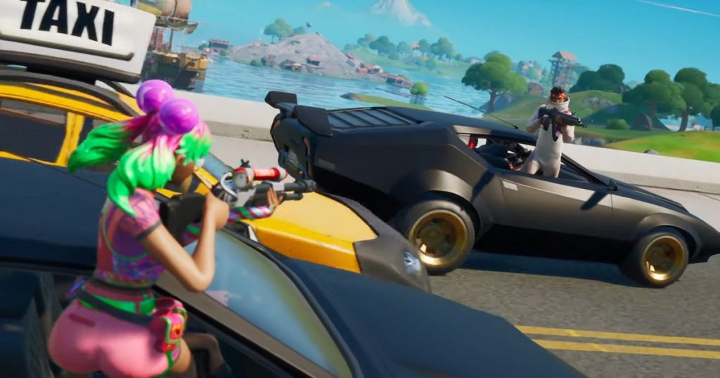 Por fin, los automóviles ya están disponibles en Fortnite: Battle Royale