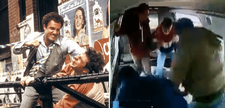 9 escenas de películas que no le llegan ni a los talones a la de la combi