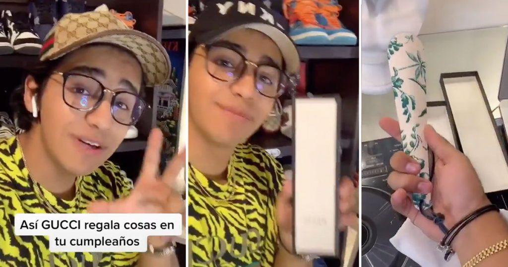 TikToker demuestra cómo Gucci te da un regalo… Spoiler: es un calzador