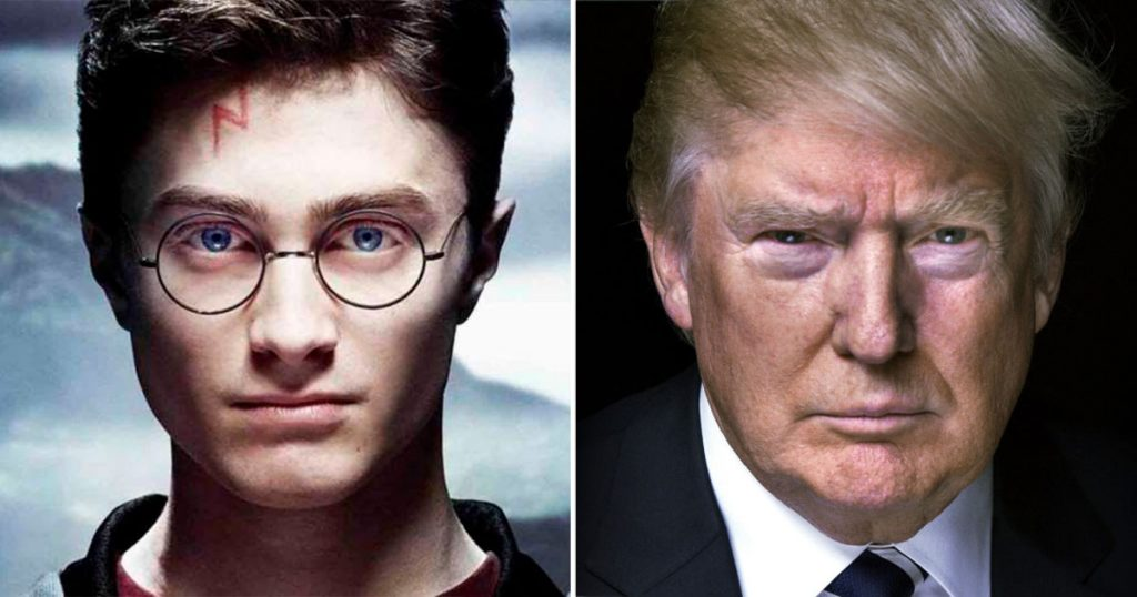 9 no tan mágicas semejanzas entre Harry Potter y Donald Trump