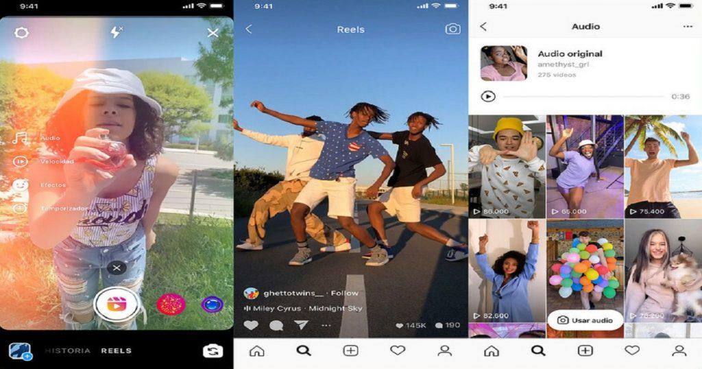 ¡Hay tiro! Facebook lanza Instagram Reels para competir con TikTok