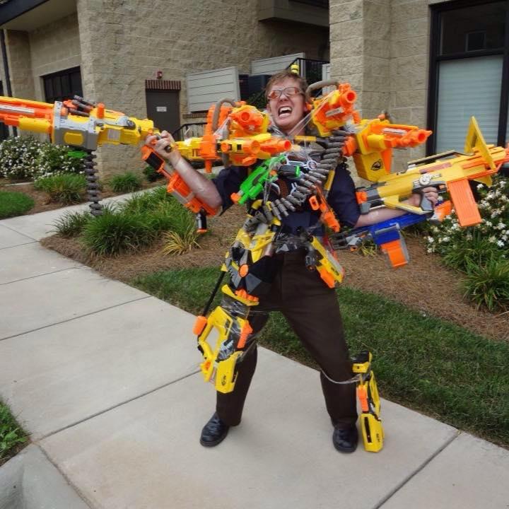 Nerf Guns meme