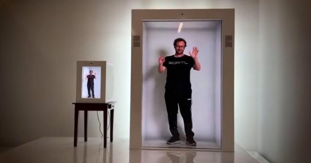 Crean máquina que proyecta hologramas para hablar en tiempo real (VIDEO)