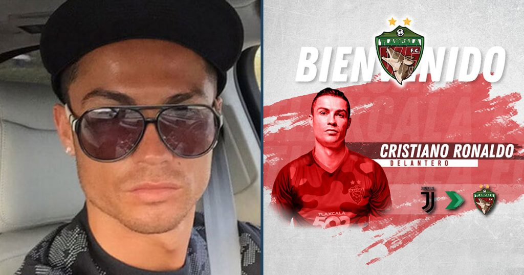 Los Coyotes de Tlaxcala ya confirmaron que NO contrataron a Cristiano Ronaldo (por si les preocupaba)