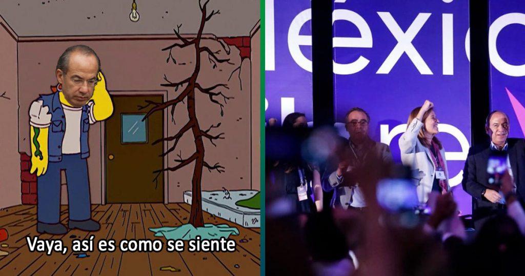 Calderón se la pellizca: INE le niega registro a su partido de México Libre