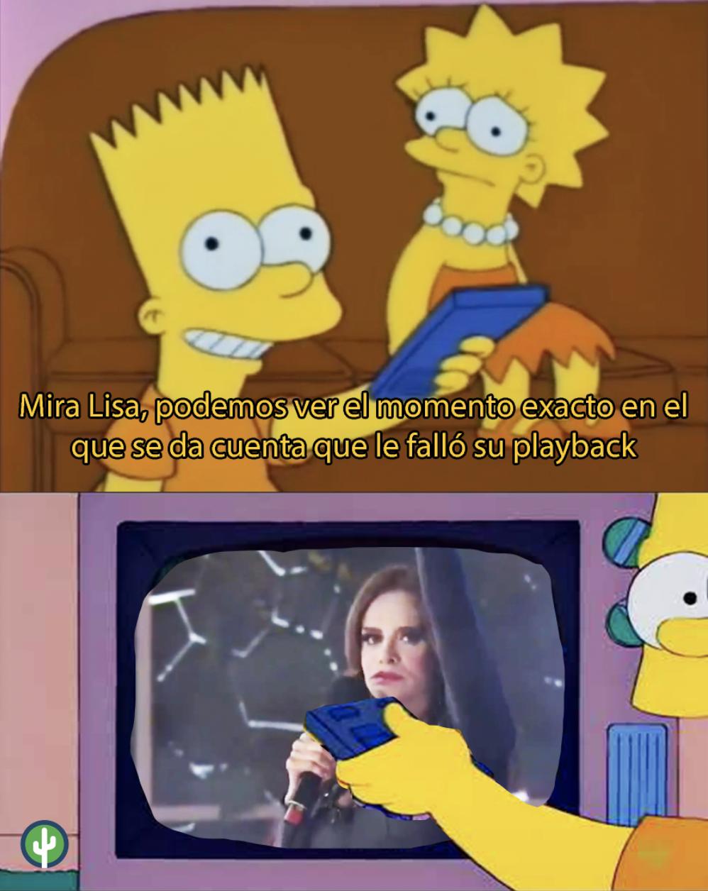 Lucía Méndez Playback meme