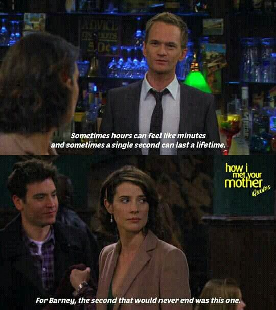 longest second barney stinson himym