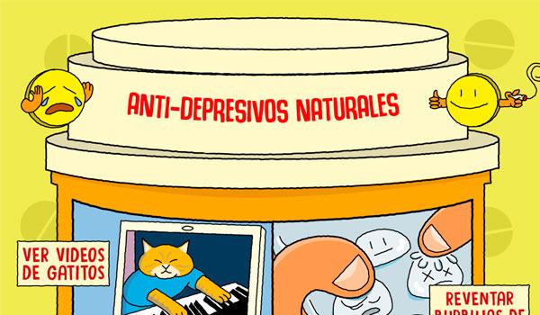 5 anti-depresivos naturales que podrían salvar tu vida