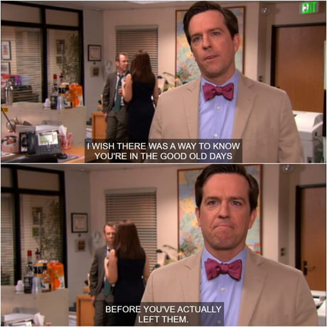andy the office the good old days