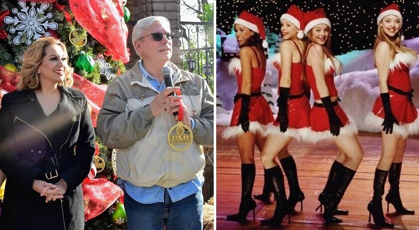 Declaran abierta la temporada para practicar la coreografía de la cena de Navidad