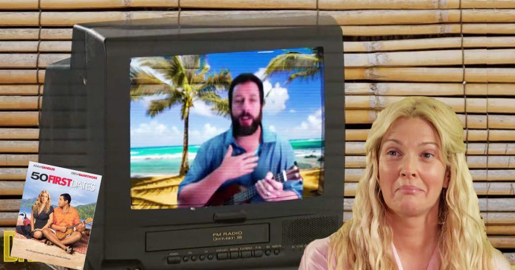 Cover Adam Sandler Drew Barrymore Como si fuera la primera vez sketch