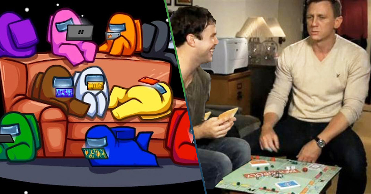 Cover Among Us Monopoly Amigos Familia
