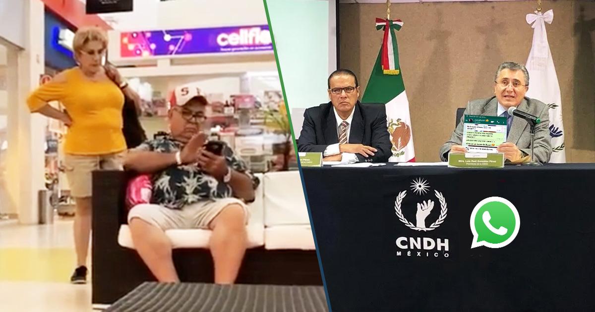 Cover CNDH WhatsApp conversaciones pareja