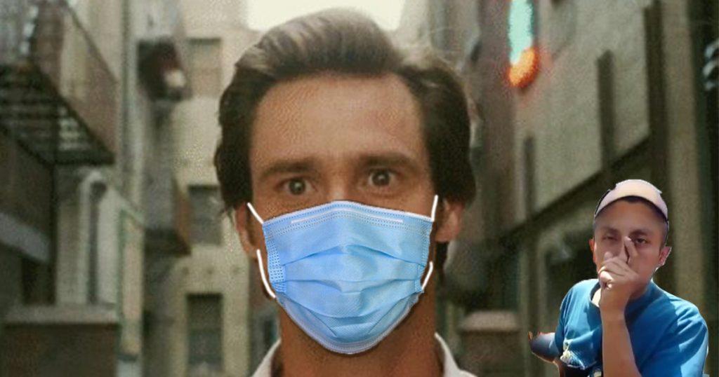 Desinfectar el cubrebocas con thinner hará tu vida más feliz: confirman vagabundos