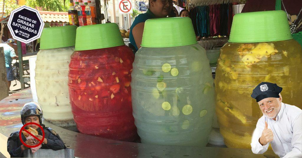 Cover Etiquetados de alimentos policías agua de chía