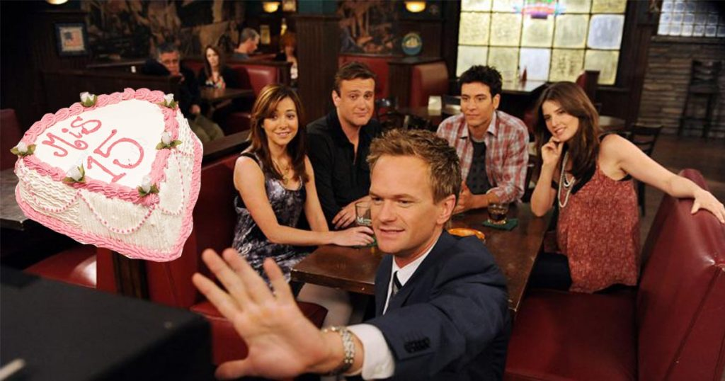 Cover How I Met Your Mother Aniversario 15 años