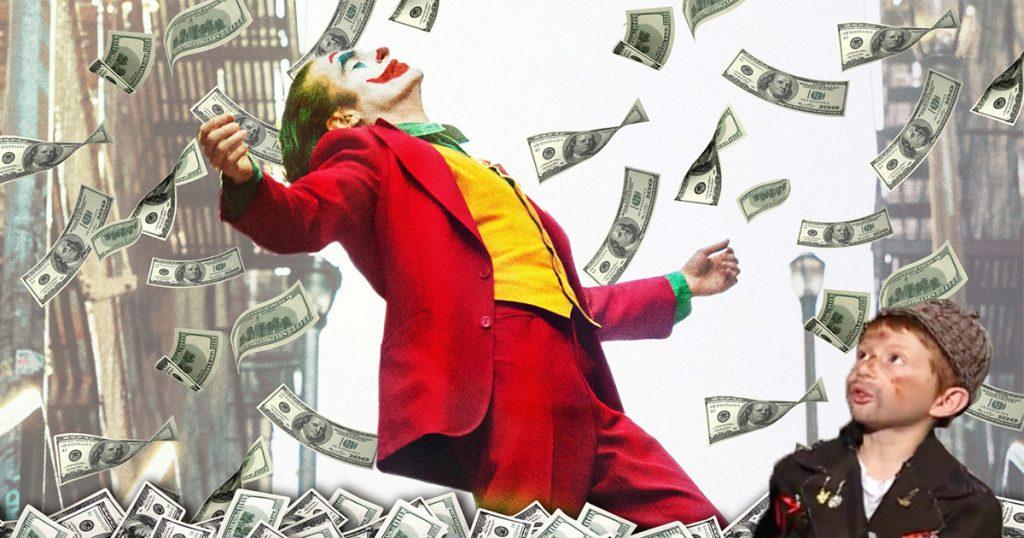 Cover Joker Joaquin Phoenix Warner Bros 50 Millones