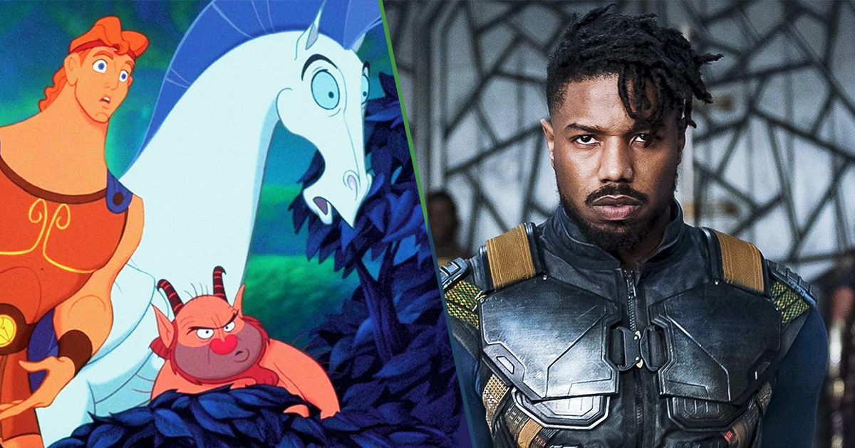 Cover Michael B. Jordan Hercules Live Action