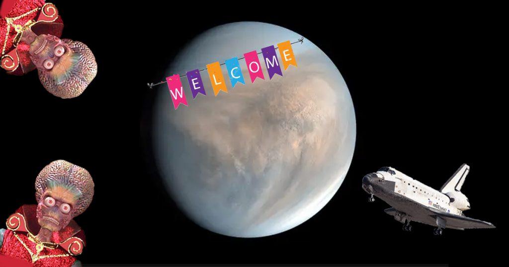 Cover Misión Venus NASA