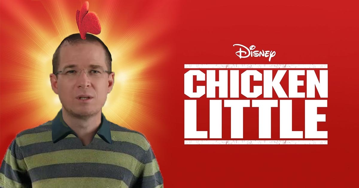Cover Ricardo Anaya Disney Chicken Little