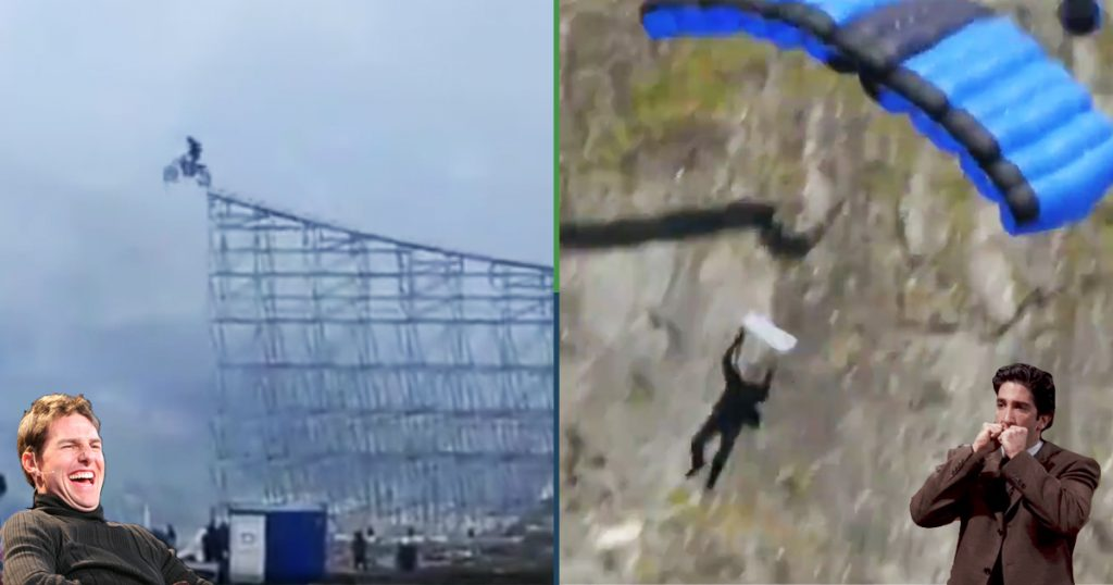 Cover Tom Cruise Misision Impossible 7 Stunt