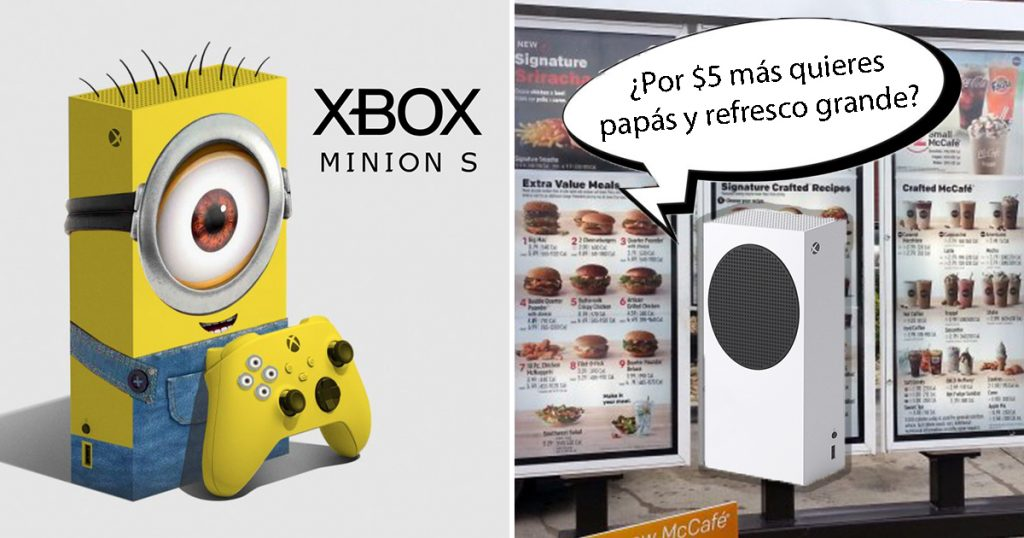 Cover Xbox Series S Memes Microsoft
