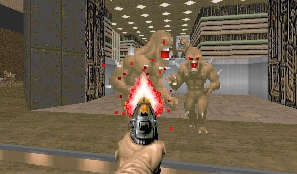 Ya puedes jugar Doom en tu prueba de embarazo aunque te salga positiva