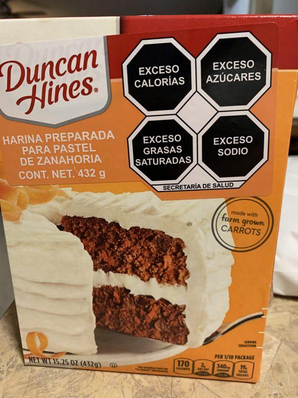 nuevo etiquetado pastel