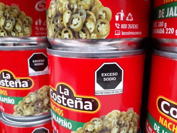 nuevo etiquetado chiles
