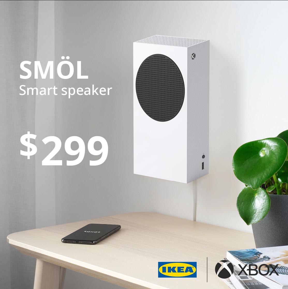 meme xbox series s speaker
