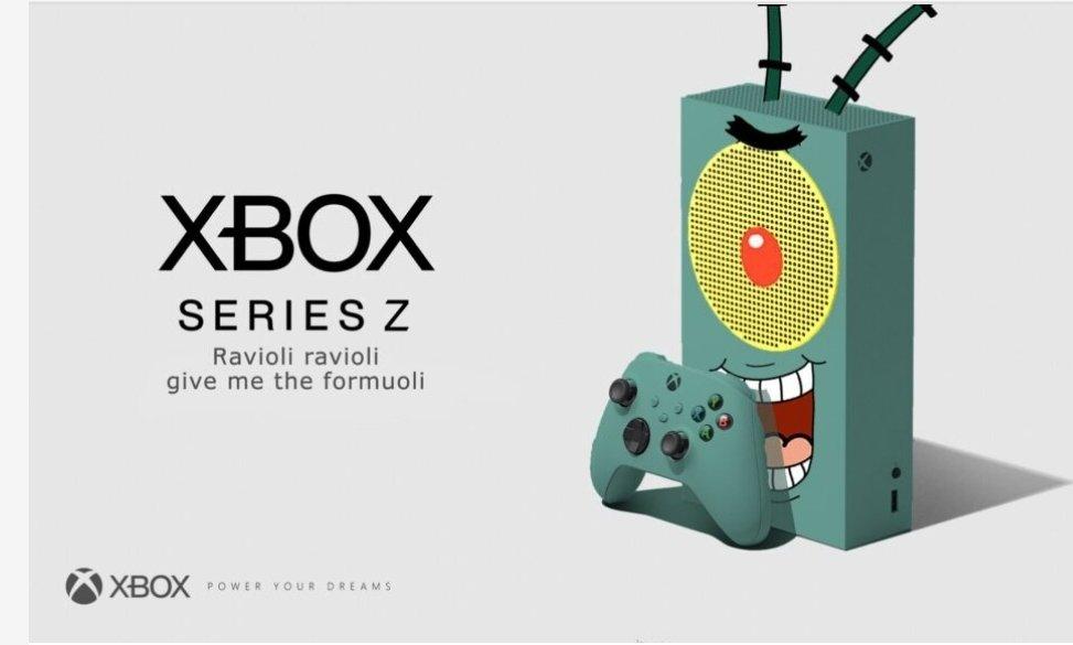 plankton meme xbox series s