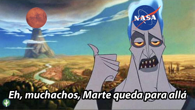 Meme NASA Marte Venus